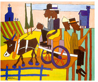 Going to Church, William H. Johnson