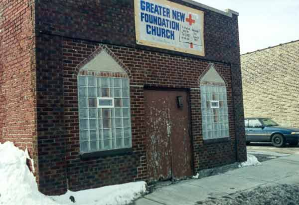 Storefront Church on Chicago's South Side
